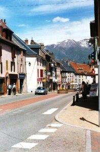 Street scene, La Mure.