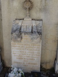 Eymard's memorial, La Mure.