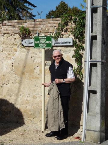 Chemin Saint Pierre-Julien Eymard, Chatte.