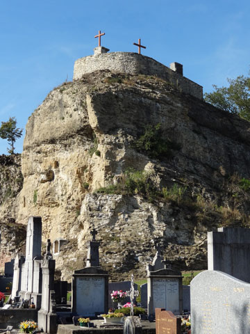 The Rock of Saint-Romans.