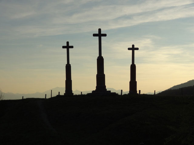 The Three Crosses ( Le Calvaire), La Mure.