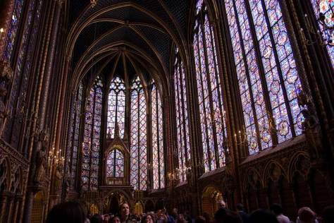 Sainte-Chapelle, Paris.