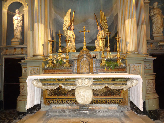Altar, Adoration Chapel, Grenoble.