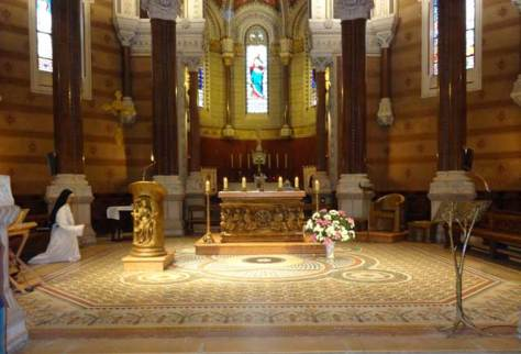 Sanctuary of the Basilica at Ars.
