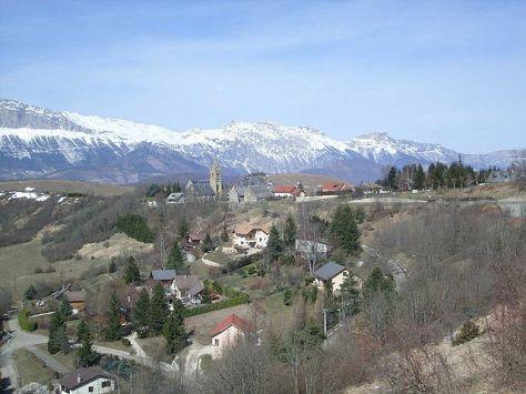 Monteynard village.