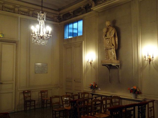 Interior, Villa Chateubriand.