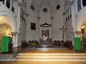 Sanctuary, Corpus Christi Chapel, Paris.
