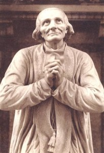 Statue of the Curé of Ars St Jean-Marie Vianney, Chapel of the Heart.