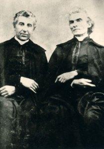 Raymond de Cuers (left) and Peter Julian Eymard.