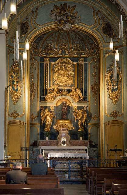 Chapelle de la Vierge.