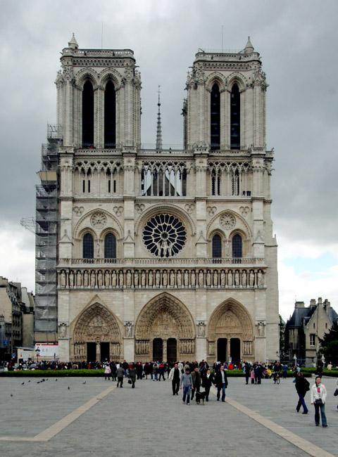 Image Cathédrale Notre Dame de Paris Notre-dame de Paris Facade