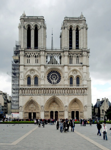 Notre-Dame de Paris facade