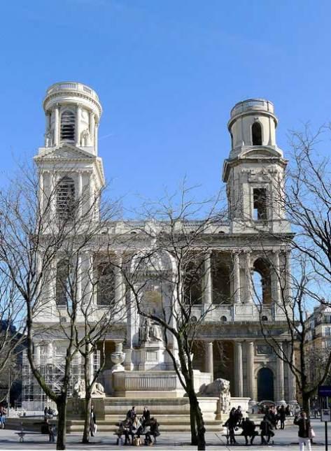 Saint-Sulpice, Paris.