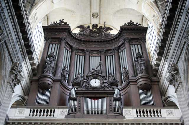 The Great Organ of Saint-Sulpice Church, Paris.