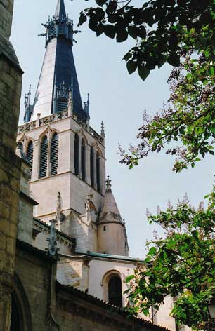 Spire, Église Saint-Paul, Lyon.