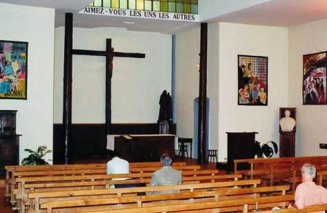 Interior, Prado Chapel, Lyon.