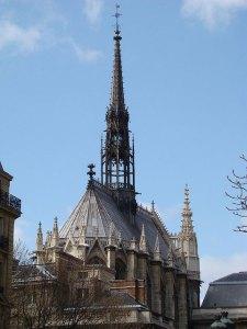Exterior, Sainte-Chapelle.