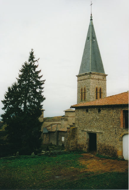 View to Chapel, Le Château de Saint-Bonnet-le-Froid.