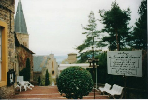 Le Château de Saint-Bonnet-le-Froid.