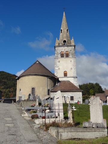 Rear view, Chapelle St Pierre-Julien Eymard, La Mure.