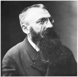 Auguste Rodin, 1893.